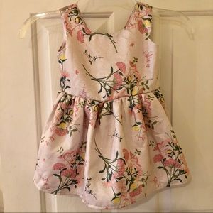 The Children's Place Floral Bow-Back Dress [2T]